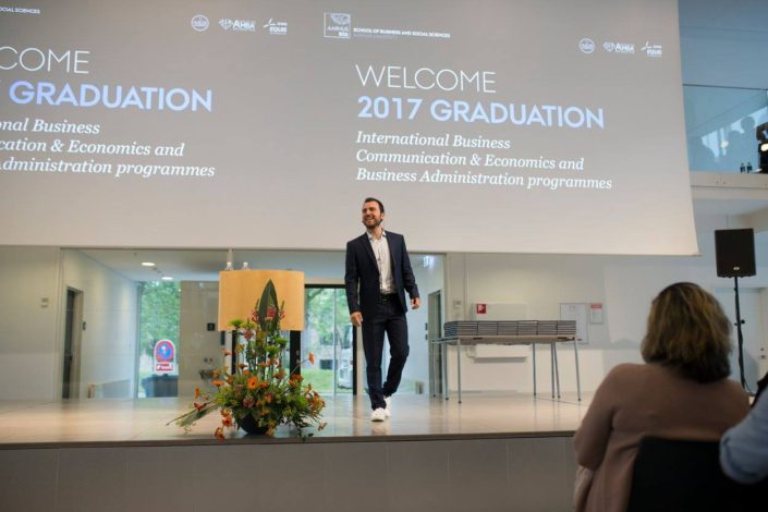 Stoyan's Graduation speech at Aarhus University